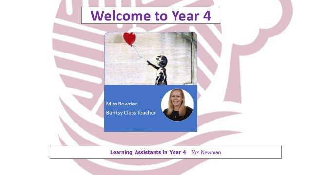 Year 4 Teacher Page